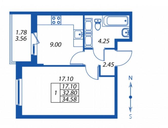 """ЖК """"Полис на Комендантском"""": маленькие квартирки в районе с большими планами - Фото 24"""