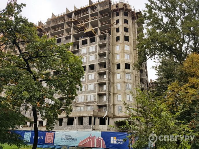 """ЖК """"Дом на набережной"""": проект, потеснивший новый мост через Неву - Фото 38"""