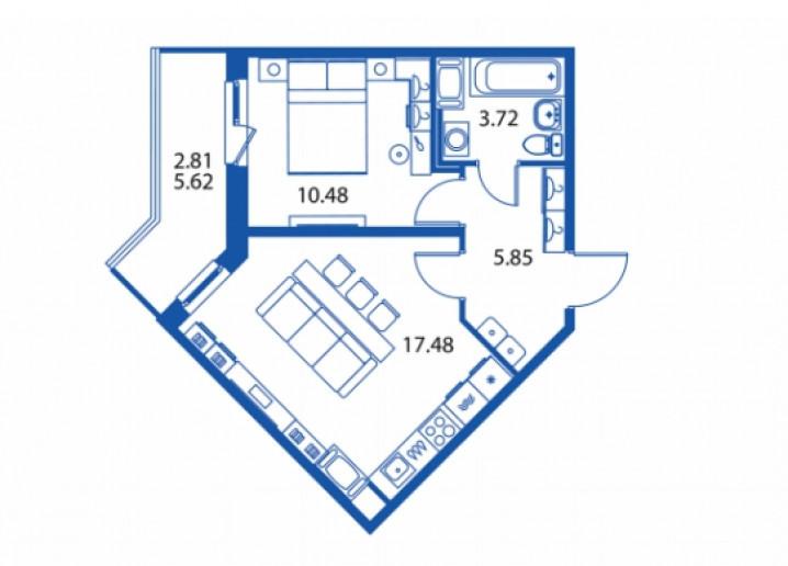 """ЖК """"Полис на Комендантском"""": маленькие квартирки в районе с большими планами - Фото 26"""