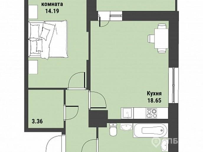 """ЖК """"Живи! В Рыбацком!"""" - недорогие квартиры с отделкой и удобной рассрочкой. - Фото 36"""