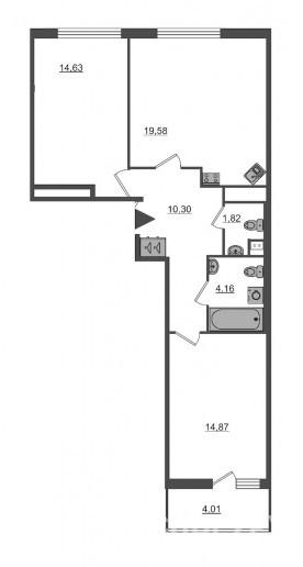 "ЖК ""PULSE на набережной"": тысячи квартир с отделкой вместо завода  - Фото 52"