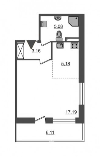 "ЖК ""PULSE на набережной"": тысячи квартир с отделкой вместо завода  - Фото 48"