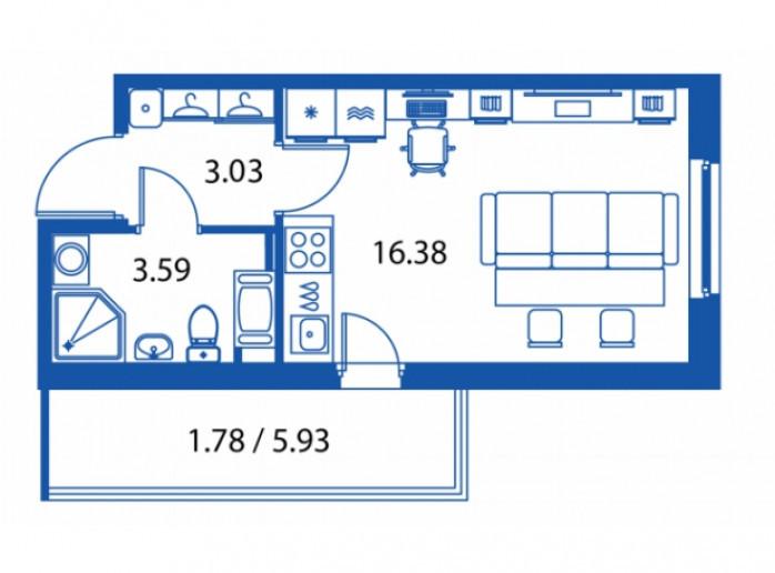 """ЖК """"Полис на Комендантском"""": маленькие квартирки в районе с большими планами - Фото 14"""