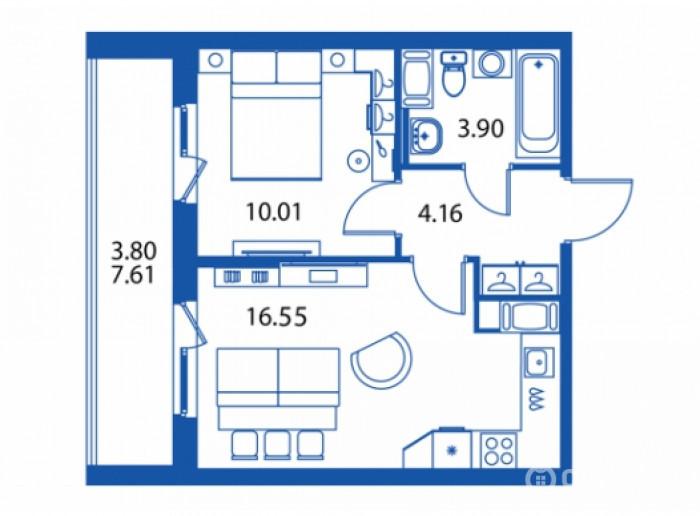 """ЖК """"Полис на Комендантском"""": маленькие квартирки в районе с большими планами - Фото 25"""