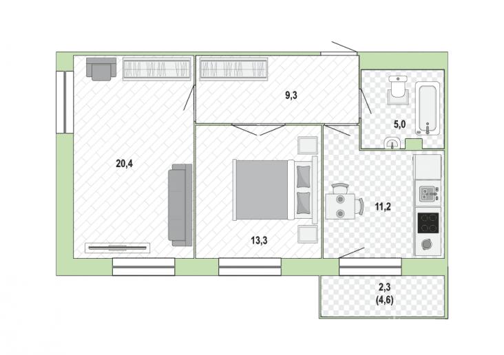 """ЖК """"Жемчужный каскад"""": дома с променадом и видом на залив - Фото 34"""