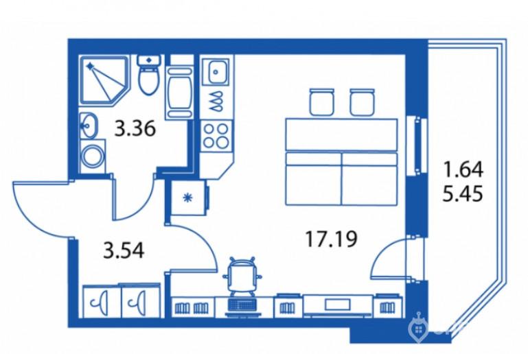 """ЖК """"Полис на Комендантском"""": маленькие квартирки в районе с большими планами - Фото 17"""