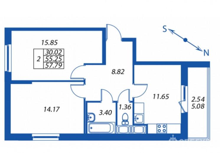 """ЖК """"Полис на Комендантском"""": маленькие квартирки в районе с большими планами - Фото 33"""