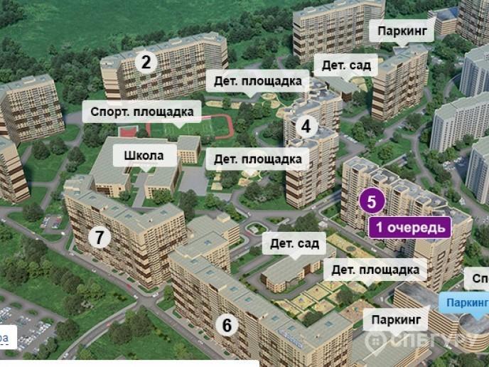 """ЖК """"Приневский"""" -  бюджетное жилье в пределах КАД - Фото 1"""