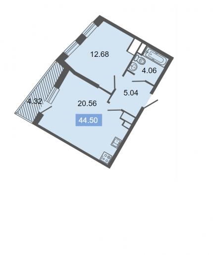 """ЖК """"Питер"""": квартиры бизнес-класса с видом на ЛЭП - Фото 15"""