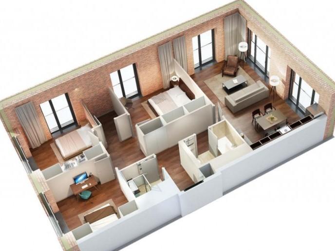 Docklands: стильные апартаменты с видом на Малую Неву - Фото 33