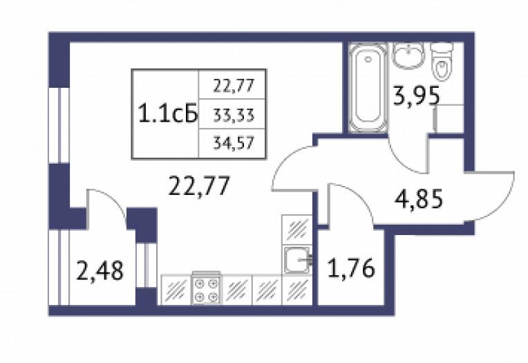 """""""Неоклассика"""": симпатичные малоэтажные дома при въезде в Пушкин - Фото 24"""