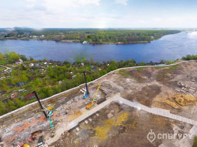 ЖК «Невские Паруса» -  стройка с видом на Неву от Setl City - Фото 10