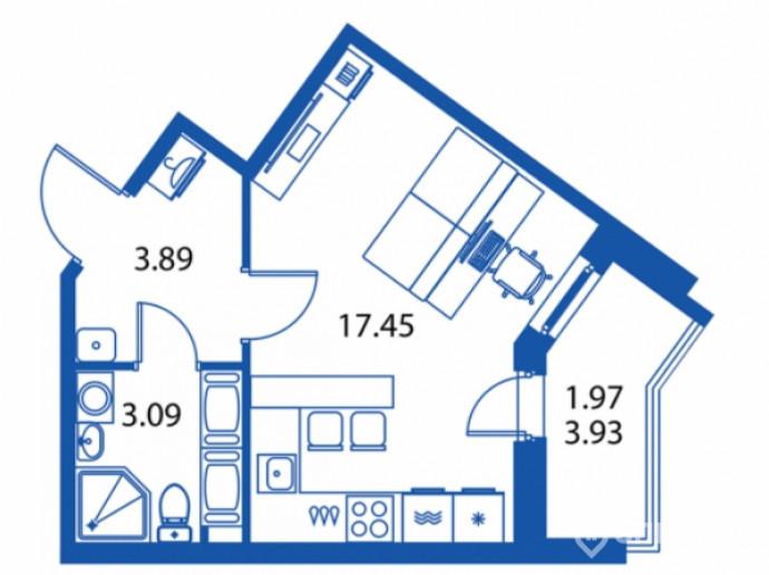 """ЖК """"Полис на Комендантском"""": маленькие квартирки в районе с большими планами - Фото 13"""