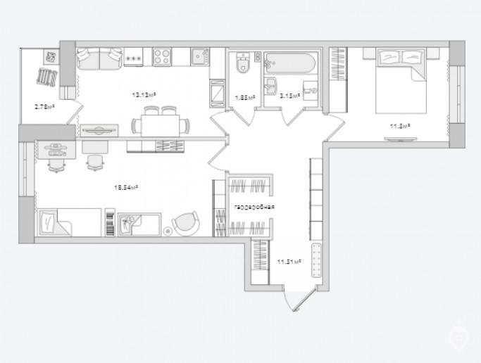 """ЖК """"ЦДС Полюстрово"""": дом размером с квартал - Фото 52"""