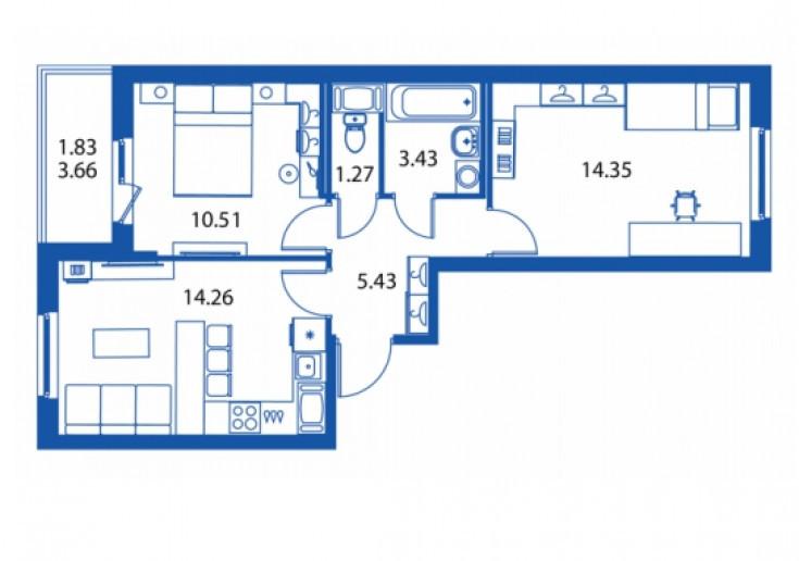 """ЖК """"Полис на Комендантском"""": маленькие квартирки в районе с большими планами - Фото 34"""