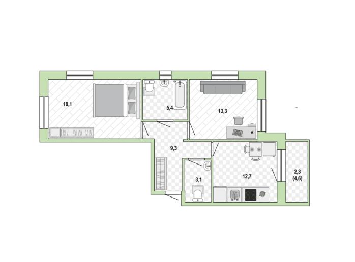 """ЖК """"Жемчужный каскад"""": дома с променадом и видом на залив - Фото 33"""