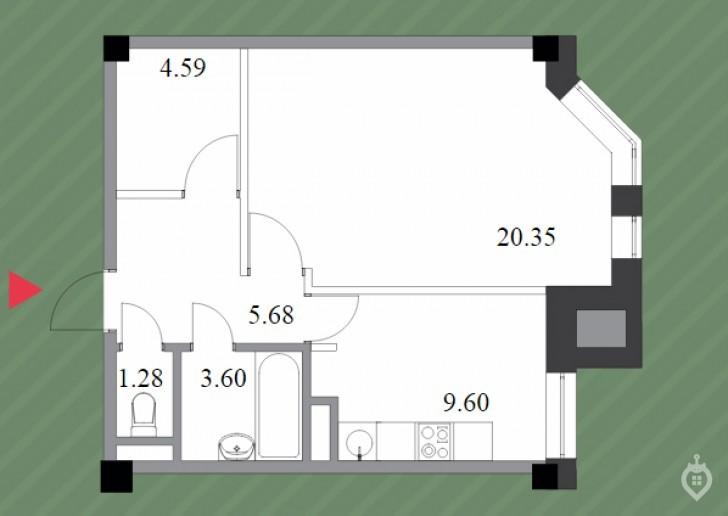 """ЖК """"Шерлок Хаус"""": неплохой, но сильно переоцененный дом на """"Удельной"""" - Фото 43"""