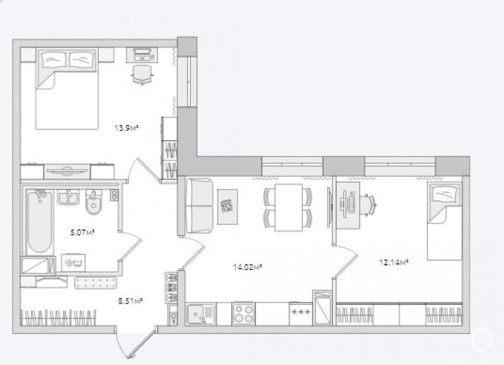 """ЖК """"ЦДС Полюстрово"""": дом размером с квартал - Фото 46"""