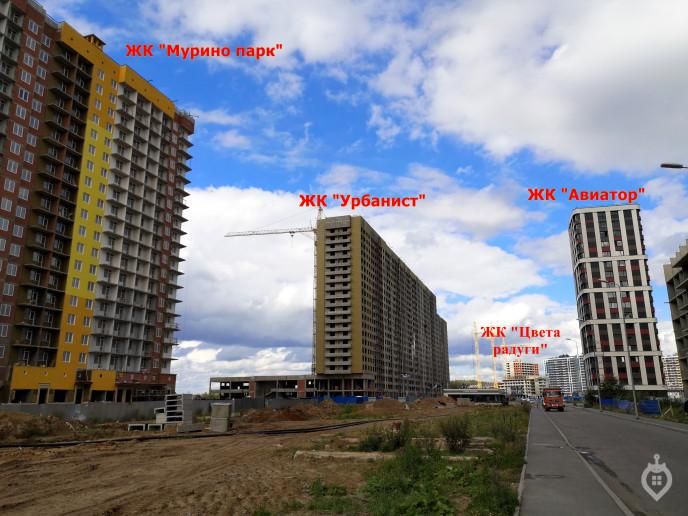 "ЖК ""Урбанист"": третий из ларца на границе Мурино - Фото 46"