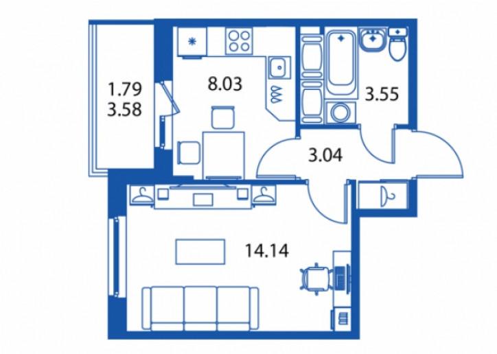"""ЖК """"Полис на Комендантском"""": маленькие квартирки в районе с большими планами - Фото 20"""