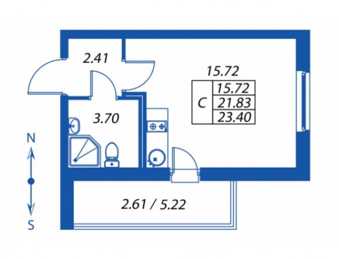 """ЖК """"Полис на Комендантском"""": маленькие квартирки в районе с большими планами - Фото 16"""