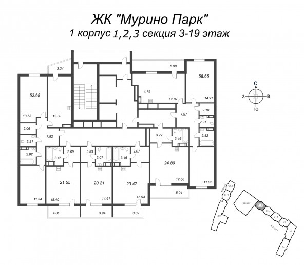 """ЖК """"Мурино Парк"""": солнечный комплекс с плюшками у метро - Фото 25"""