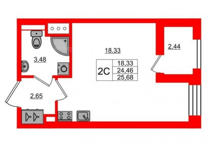"""ЖК """"Эмеральд на Малой Неве"""": изумруд в техногенной оправе - Фото 46"""