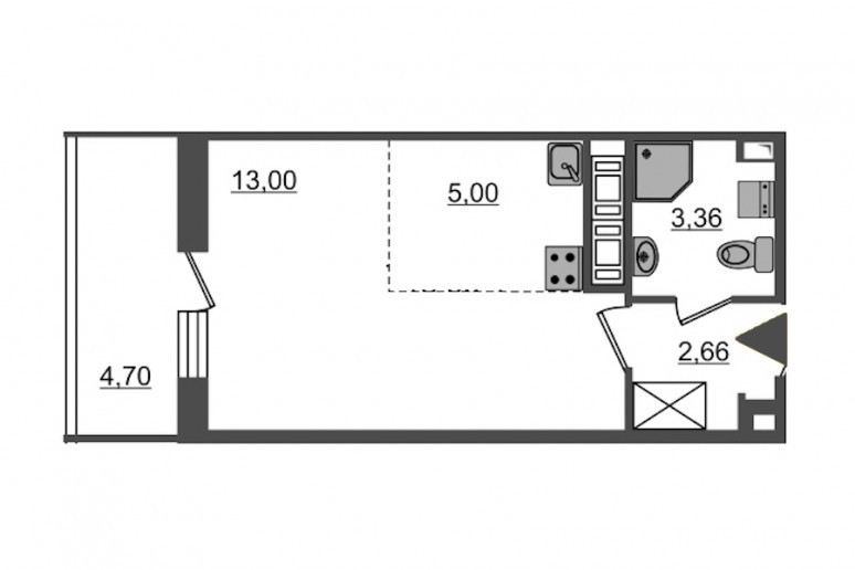 "ЖК ""PULSE на набережной"": тысячи квартир с отделкой вместо завода  - Фото 47"