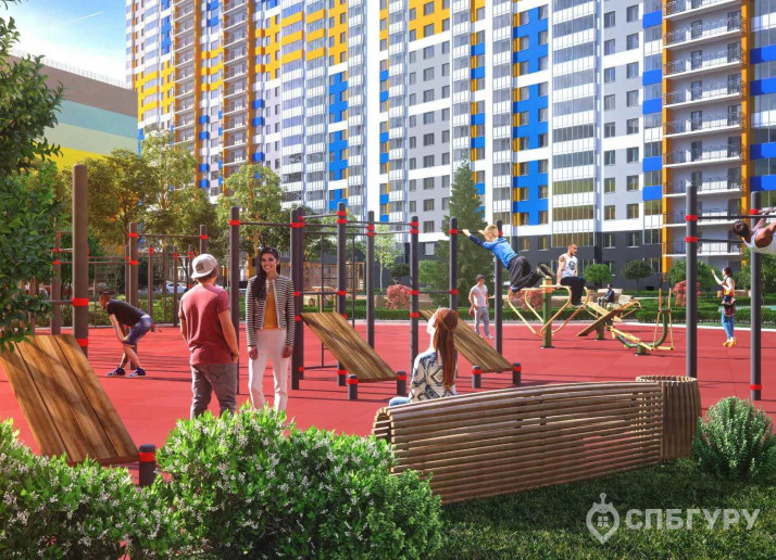 """ЖК """"Полис на Комендантском"""": маленькие квартирки в районе с большими планами - Фото 3"""