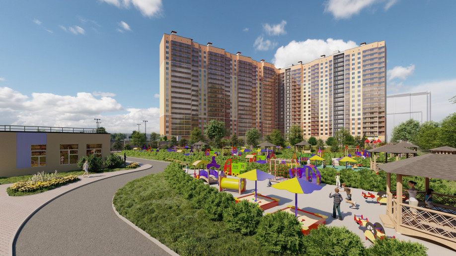 """ЖК """"Мурино Парк"""": солнечный комплекс с плюшками у метро - Фото 15"""