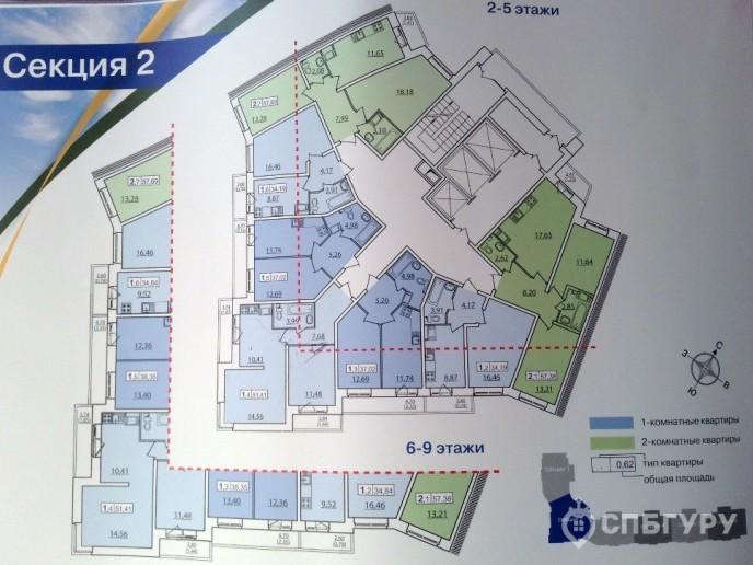 """ЖК """"Приневский"""" -  бюджетное жилье в пределах КАД - Фото 33"""