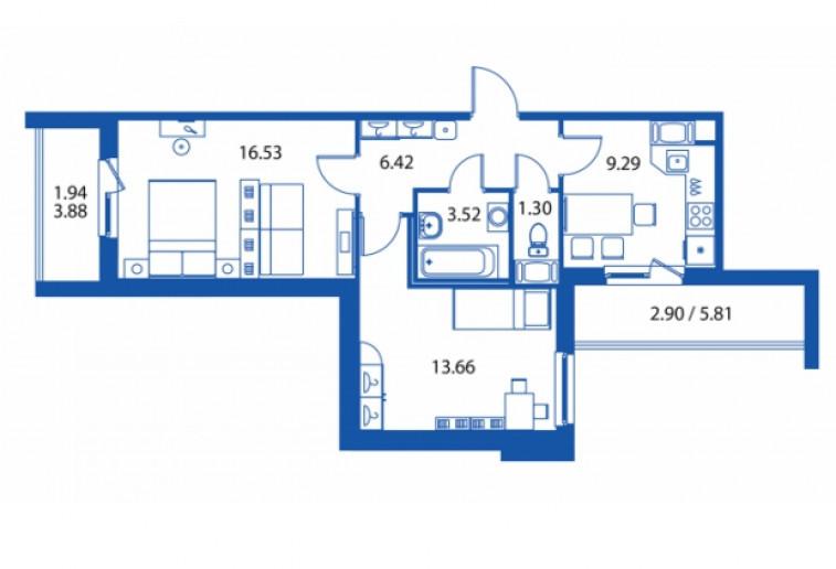 """ЖК """"Полис на Комендантском"""": маленькие квартирки в районе с большими планами - Фото 32"""