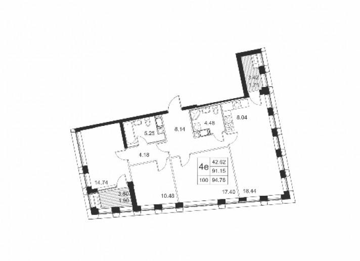 "ЖК ""Голден Сити"": пафосный комплекс на намыве без отделки и четких планов - Фото 34"