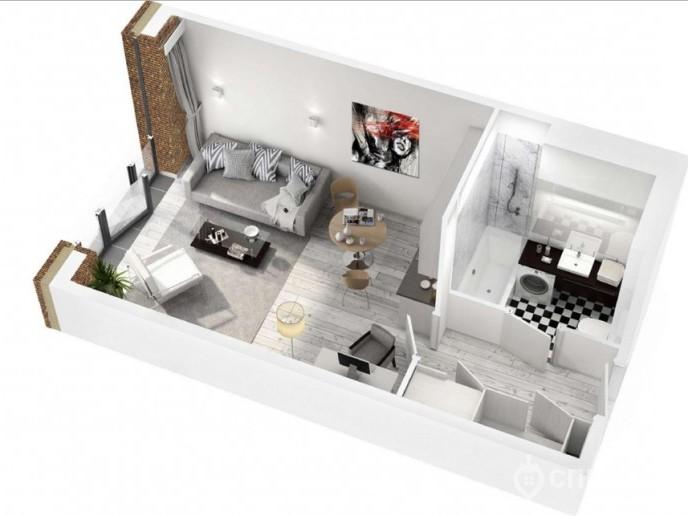 Docklands: стильные апартаменты с видом на Малую Неву - Фото 30