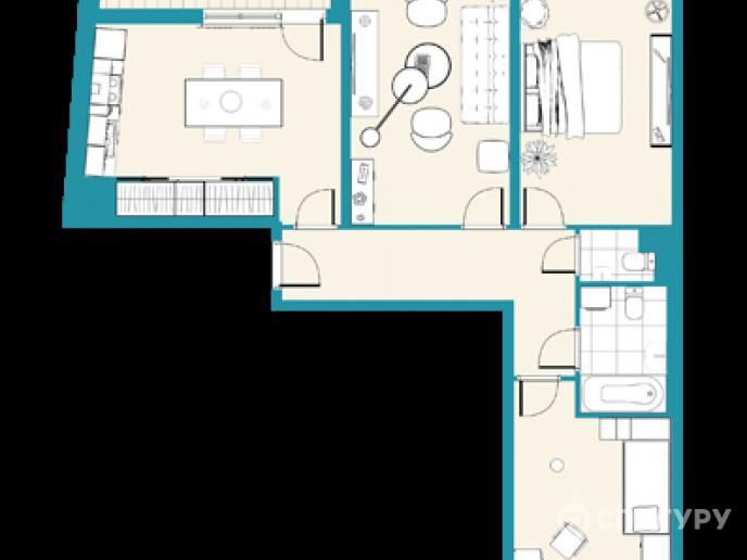 """ЖК """"Стереос"""": многоэтажный комплекс на зеленой окраине - Фото 35"""