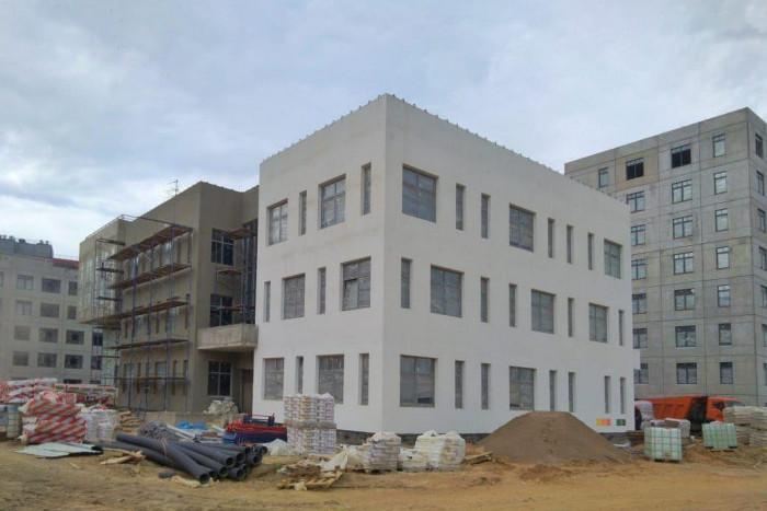 "Детский сад в микрорайоне ""Янила"" достроят через два месяца"