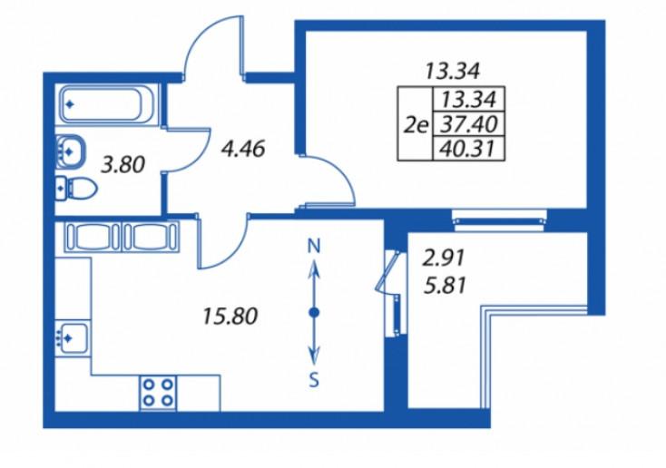 """ЖК """"Полис на Комендантском"""": маленькие квартирки в районе с большими планами - Фото 29"""