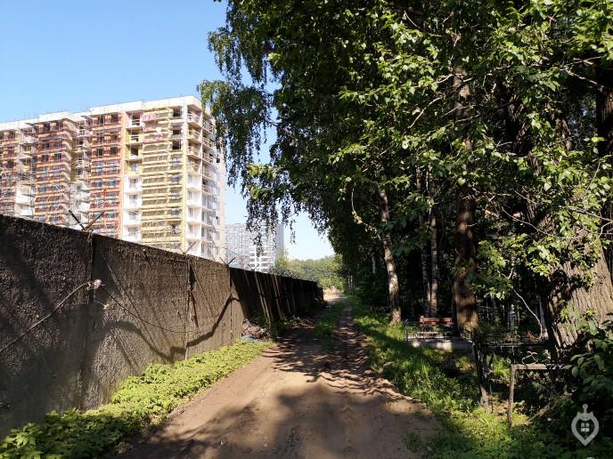 """ЖК """"ArtLine"""": с видом на дорогу или кладбище - Фото 61"""