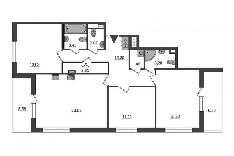"ЖК ""PULSE на набережной"": тысячи квартир с отделкой вместо завода  - Фото 54"