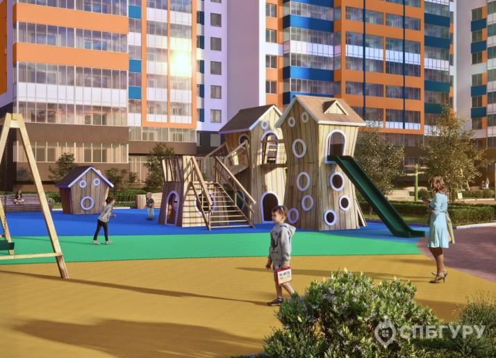"""ЖК """"Полис на Комендантском"""": маленькие квартирки в районе с большими планами - Фото 4"""