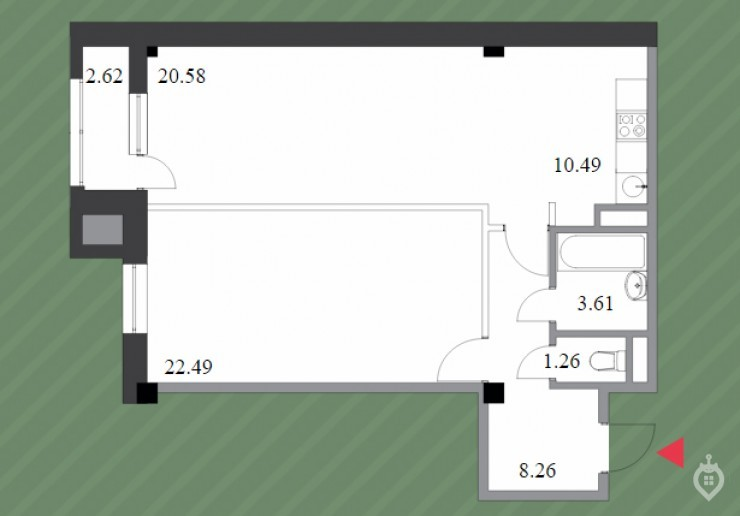 """ЖК """"Шерлок Хаус"""": неплохой, но сильно переоцененный дом на """"Удельной"""" - Фото 47"""