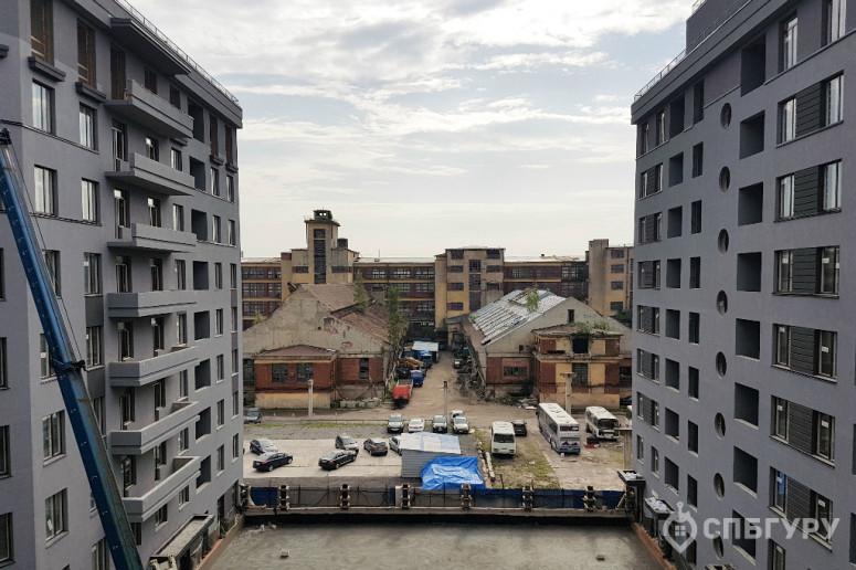 """ЖК """"Мендельсон"""": бизнес-класс с видом на заброшенную фабрику - Фото 16"""