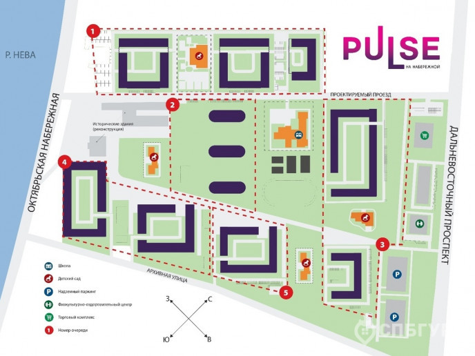 "ЖК ""PULSE на набережной"": тысячи квартир с отделкой вместо завода  - Фото 27"