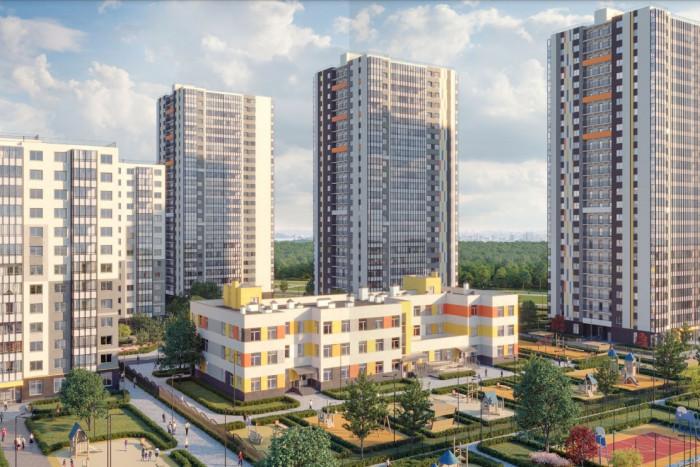 Квартира с городской пропиской в экологичной локации от 2,7 млн рублей