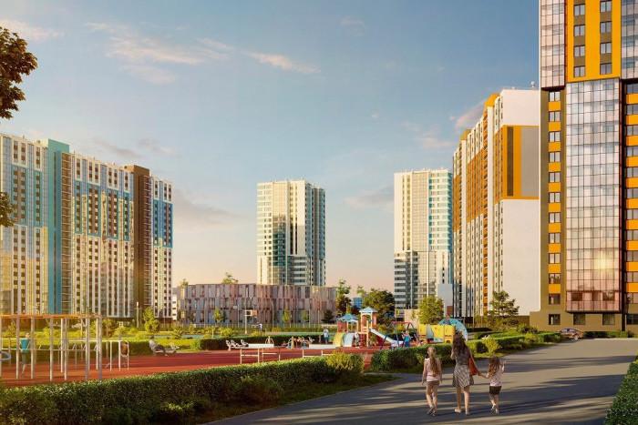 """На рынок выведен новый дом жилого комплекса """"Цветной город"""""""