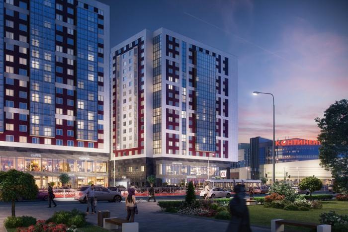 """На рынок выведены апартаменты второй очереди комплекса """"VALO"""""""