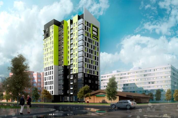 На рынок поступили квартиры в 20-этажке на Серебристом бульваре