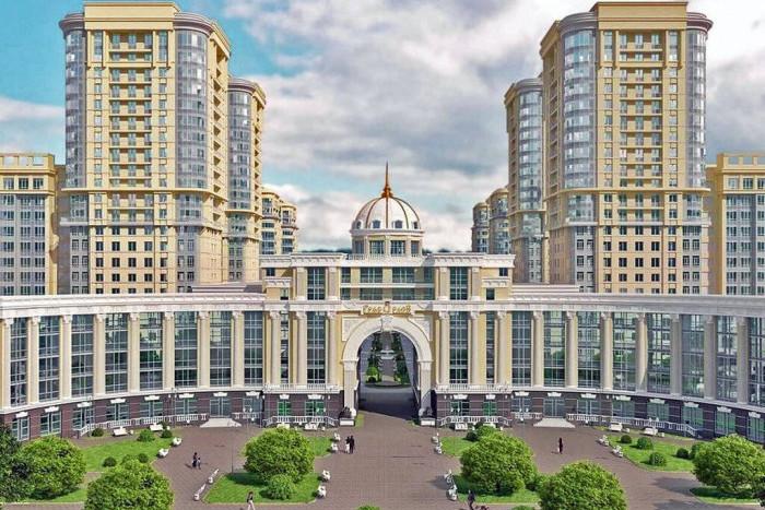 """На рынок вышел самый фешенебельный дом в ЖК """"Граф Орлов"""""""
