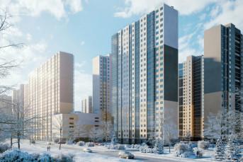 """На рынок выведены квартиры в ЖК """"Цветной город"""""""