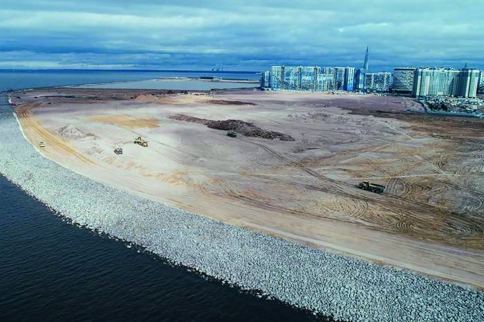 На Васильевском острове за пять лет намоют крупный участок